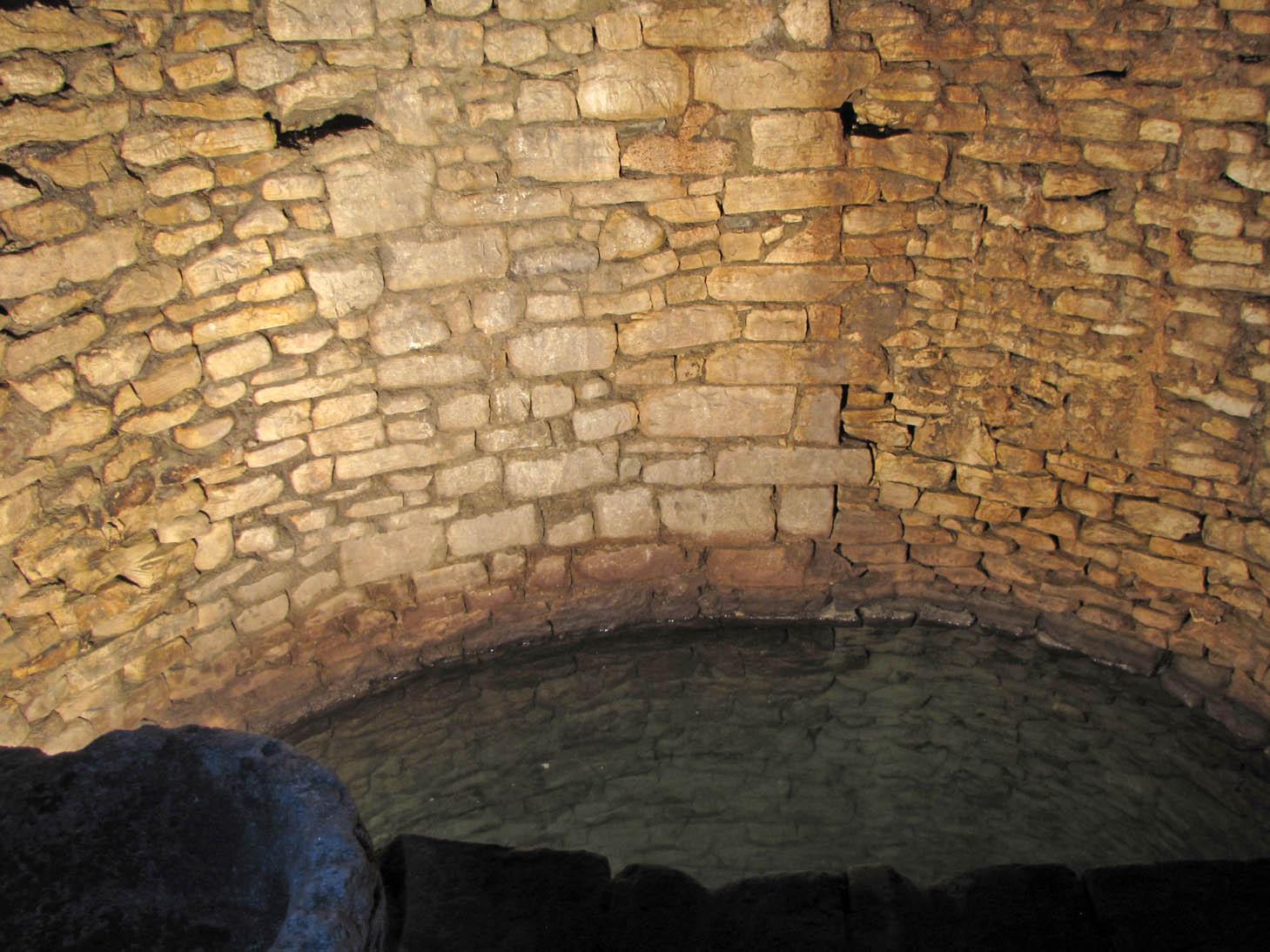 L'interno del pozzo